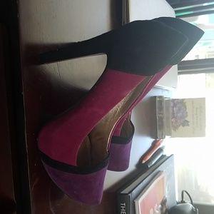 BCBG Suede Shoes